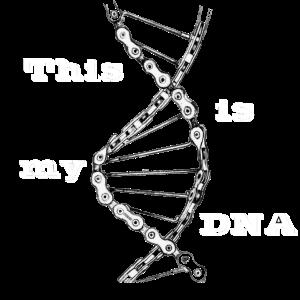 Fahrradkette - Mottoradkette DNA