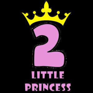 Geburtstag Kind 2 Jahre Prinzessin Geschenk Girl