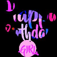 Happy Birthday Girl Present