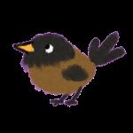 vogeltje klein illustratie