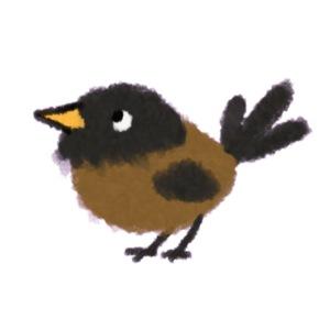 vogeltje klein