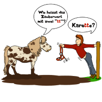 Zauberwort Karotte