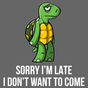 Sorry I´m late - I don´t want to come