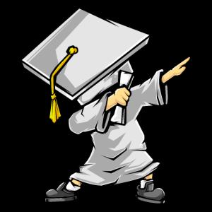 Tupfen-Absolvent - lustiges Abschluss-Geschenk