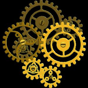Zahnraeder Steampunk