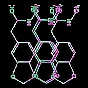 Ecstasy aka MDMA Strukturformel