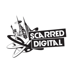 SCARRED DIGITAL LOGO