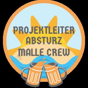 Projektleiter Absturz Malle Crew Urlaub