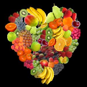 Obst-Herz