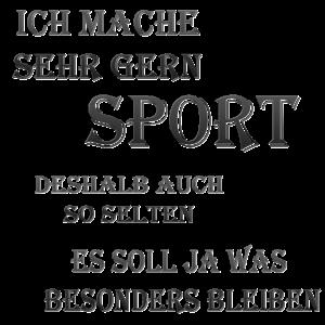 Sport,Sportmuffel,Sportlich