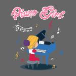 Piano Girl - Klavier