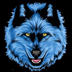 Krafttier Wolf