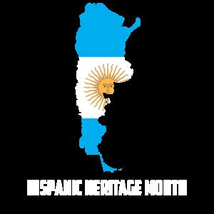 Hispanic Heritage Monat Argentinien Geschenk