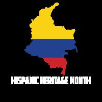 Hispanic Heritage Monat Kolumbien Geschenk