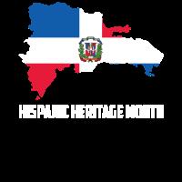 Hispanic Heritage Monat Dominikanische Republik Geschenk