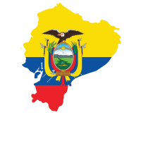 Hispanisches Erbe Monat Ecuador Geschenk