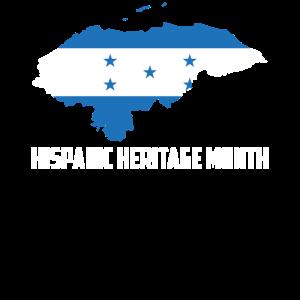 Hispanic Heritage Monat Honduras Geschenk
