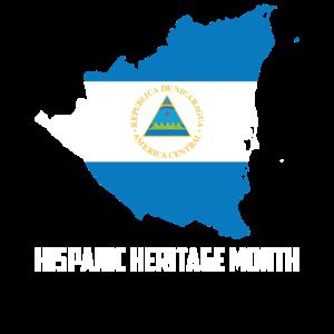 Hispanic Heritage Monat Nicaragua Geschenk