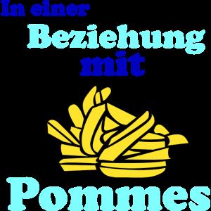 In einer Beziehung mit Pommes | Essen