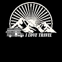 Wohnwagen Campen Reisen Travel