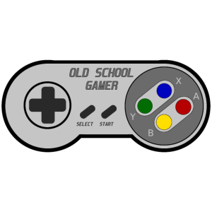 OLD SCHOOL GAMER - Motiv