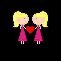 Schwesterherz Herz