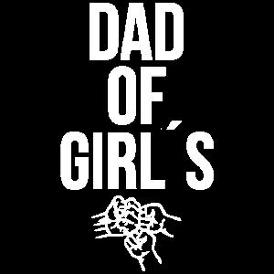 Papa von Töchter Tochter Vater Kinder Geschenk