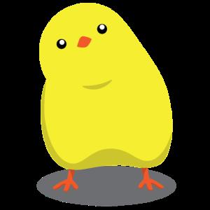 Bird T-Shirt Yellow Cute