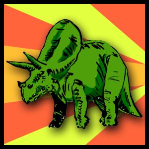 Triceratops Dinosaurier Geschenk fuer Kinder Dino