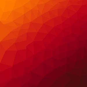 Dreiecke Hintergrund rot