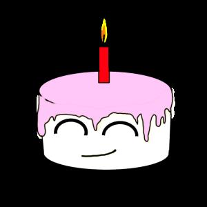 pinke Torte