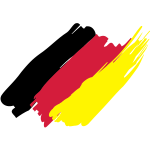 allemagne(germany),drapeau allemand, deutsche flagge