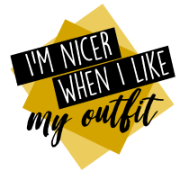 Ich bin netter wenn ich mein Outfit mag