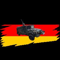 KSK Serval Fahrzeug T-Shirt Kommando Spezialkräfte