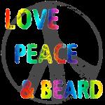 LOVEPEACEBEARD