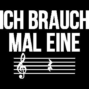 Musik und Musiker Shirt