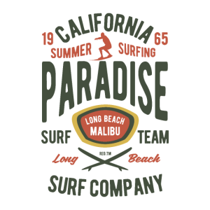 Kalifornien Sommer Surfing Paradis 1965 Malibu