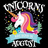 Unicorns are born in august