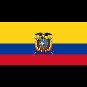 Ecuador-Flagge