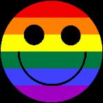 Regenbogen Smilie 1