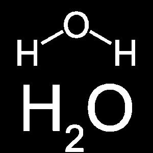 Wasser H20 Strukturformel Summenformel Chemie