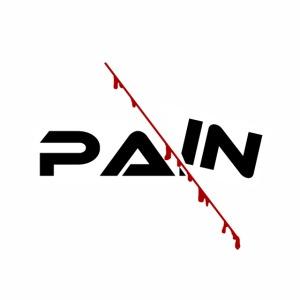 PAIN Design, blutiger Schnitt, Depression, Schmerz