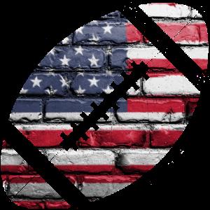 American Football Flagge