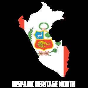 Hispanic Heritage Monat Peru Geschenk