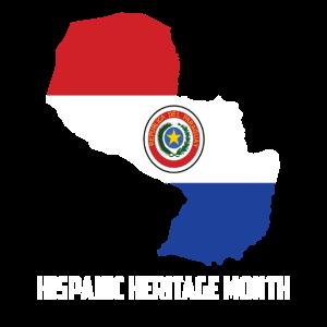 Hispanic Heritage Monat Paraguay Geschenk