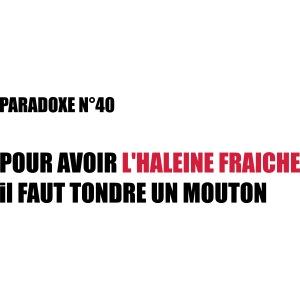 PARADOXE MOUTON