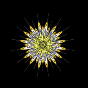 gelbe Federn