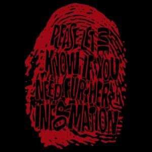 Fingerprint DNA (rød)