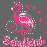17 Schulkind 2018 Flamingo Sternchen Herzchen