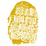 Fingerprint DNA (yellow)